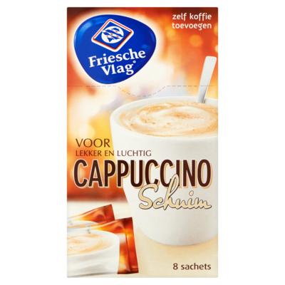Friesche Vlag Koffiecreamer cappuccino schuim 8 stuks