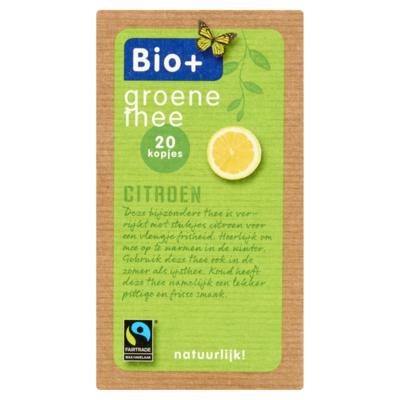 Bio+ Groene Thee 20 x 2 g