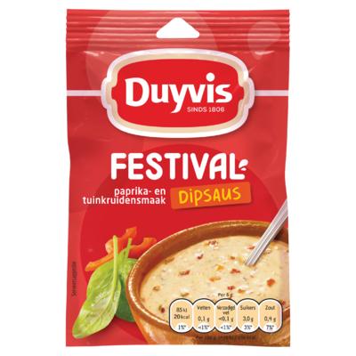 Duyvis Dipsausmix Festival Dipsaus Paprika- En Tuinkruidensmaak 6g