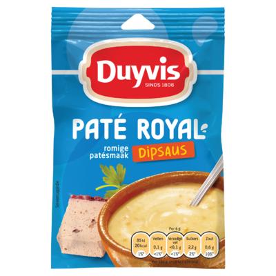 Duyvis Dipsausmix Pate Royal Dipsaus Romige Patesmaak 6g
