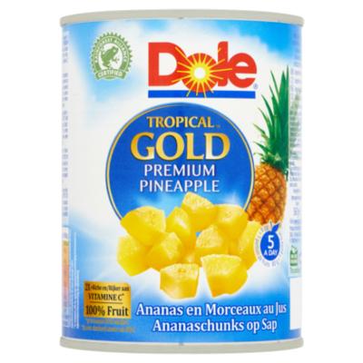 Dole Ananasstukjes op sap