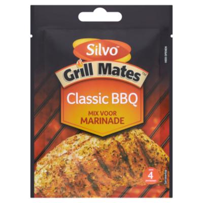 Silvo Grill mates classic BBQ marinade