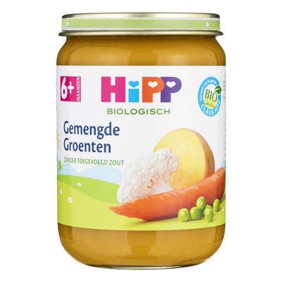 Hipp Gemengde groenten biologisch 6 maanden