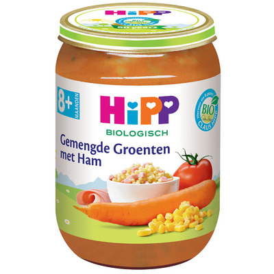 Hipp Gemengde groenten biologisch 8 maanden