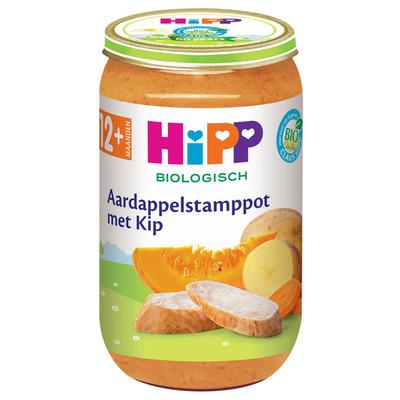 Hipp Aardappelstamppot biologisch 12 maanden