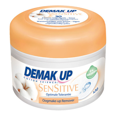 Demak'up Expert oogmake-up removerpads