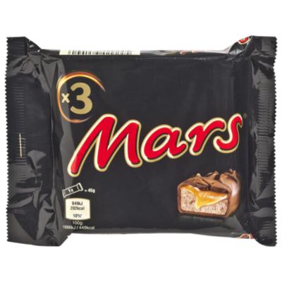 Mars 3-pack