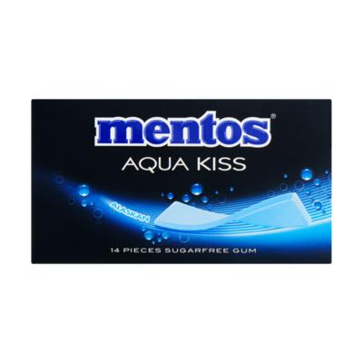 Mentos Gum Aqua Kiss Alaskan 14 Stuks