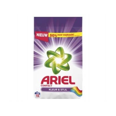 Ariel Compact waspoeder kleur & stijl 15 wasbeurten