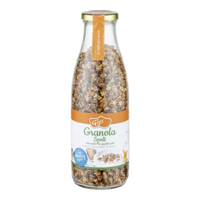 GIJS Granola spelt zaden en gepofte spelt