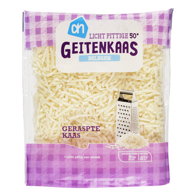 Huismerk Geraspte belegen geitenkaas 50+