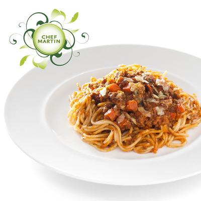 Chef Martin Spaghetti bolognese