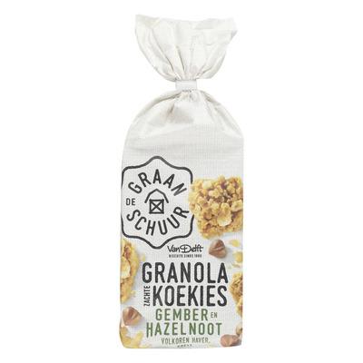 De Graanschuur Granola koekies gember en hazelnoot
