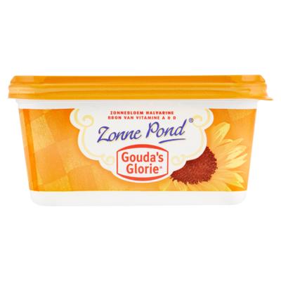 Gouda's Glorie Zonne Pond Halvarine 500 g