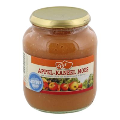 GIJS Machtige moes appelmoes met kaneel
