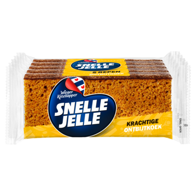 Snelle Jelle Ontbijtkoek 5-pack 275 g