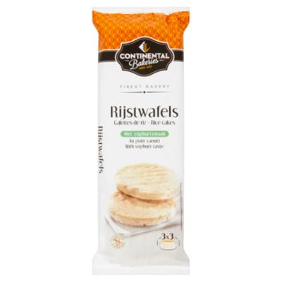Continental Bakeries Rijstwafels met yoghurtsmaak