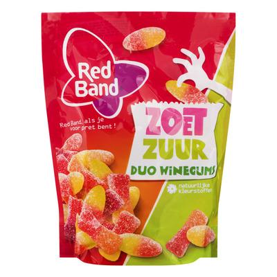Red Band Winegum zoet zuur