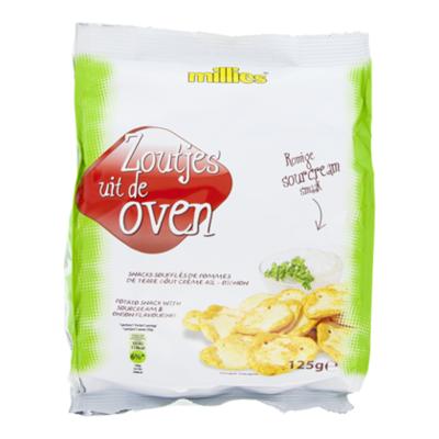 Millies Zoutjes uit de oven-romige sourcream