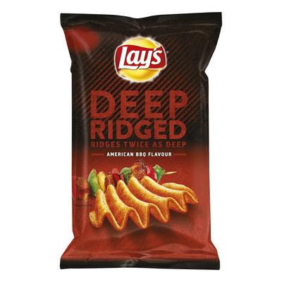 Lay's Deep ridged American bbq