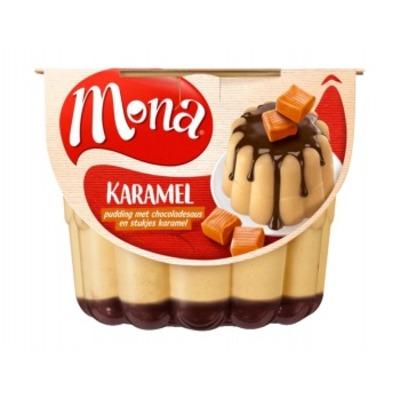 Mona Karamel pudding