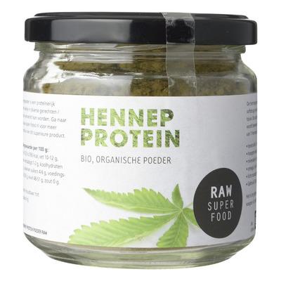 Raw Organic Food Hennep poeder