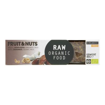 Raw Organic Food Fruit & notenreep maca