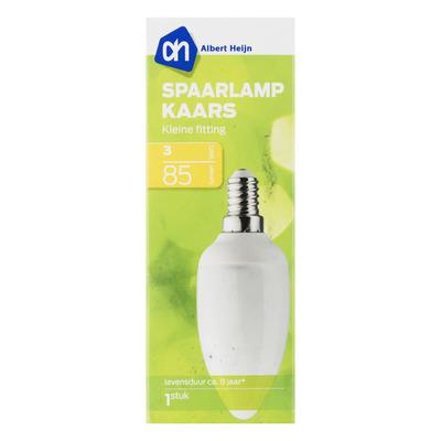 AH Spaarlamp kaars 3W kleine fitting