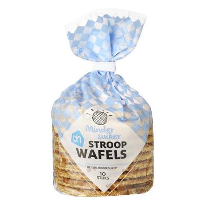 Huismerk Stroopwafels minder suiker