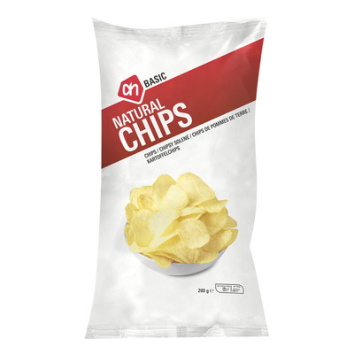 Budget Huismerk Chips naturel