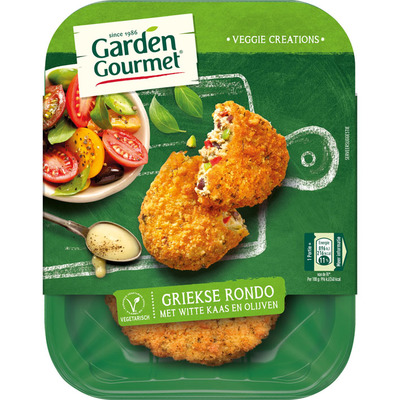 Garden Gourmet Vegetarische Griekse rondo