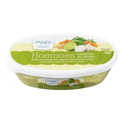 Maza Hoemoes koriander/ limoen