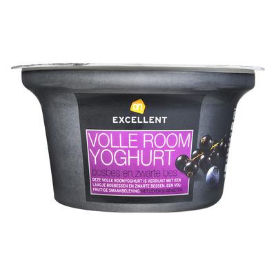 AH Excellent Roomyoghurt bosbes-zwarte bes