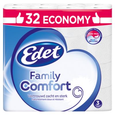 Edet Toiletpapier 3 laags Family Comfort