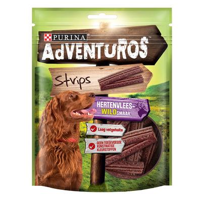 Adventuros Strips met hertenvleeswildsmaak