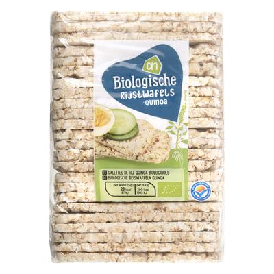 Huismerk Biologisch Rijstwafels quinoa