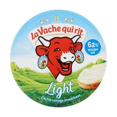 La Vache qui rit Zachte Romige Smeerkaas Light 8 Puntjes