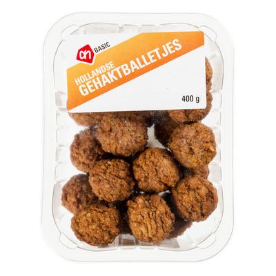 Hollandse gehaktballetjes