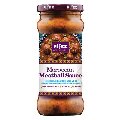 Al'Fez Moroccan meatball sauce