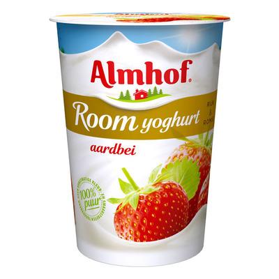 Almhof Roomyoghurt aardbei