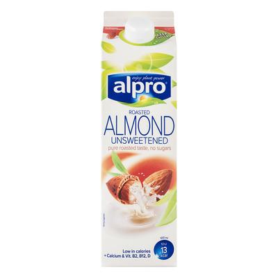 Alpro Amandeldrink ongezoet geroosterd fresh
