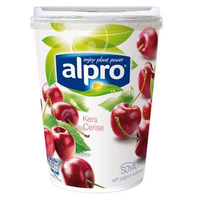 Alpro Plantaardige variatie op yoghurt kers