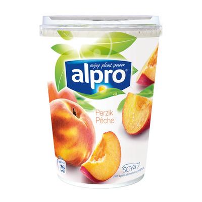 Alpro Plantaardige variatie op yoghurt perzik
