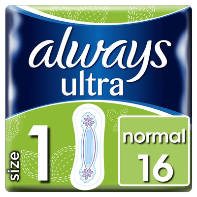 Always Ultra normal maat 1 maandverband