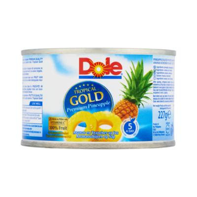 Dole Tropical Gold Ananasschijven op Sap
