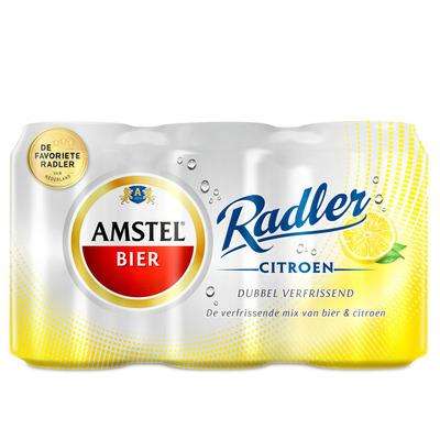Amstel Radler citroen blik