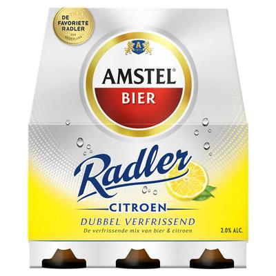 Amstel Radler citroen fles
