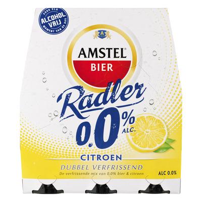 Amstel Radler citroen 0.0% fles