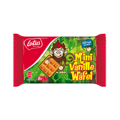 Lotus Mini vanille wafels