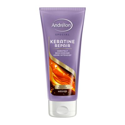 Andrélon 1-Minuut Haarmasker Keratine & Repair